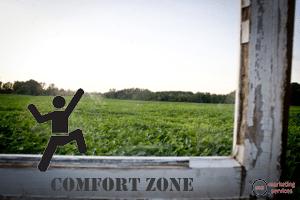 social media comfort zone