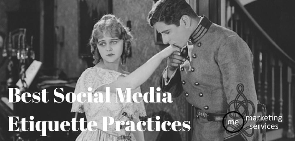 Best Social Media Etiquette Practices