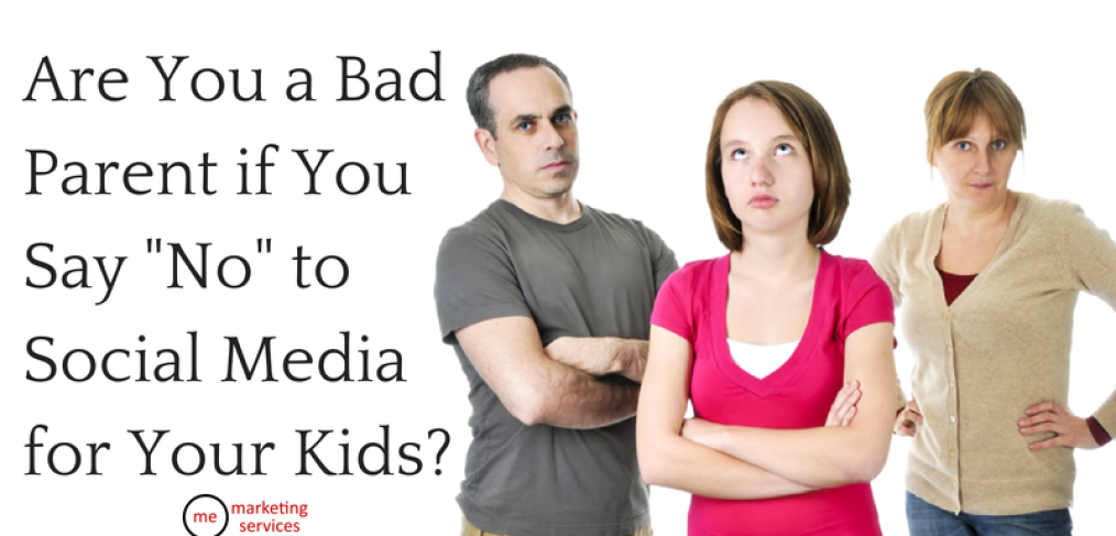 "Are You a Bad Parent if You Say ""No"" to Social Media for Your Kids?"