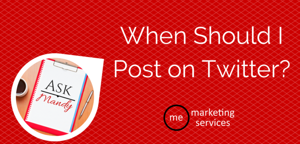 When Should I Post on Twitter?