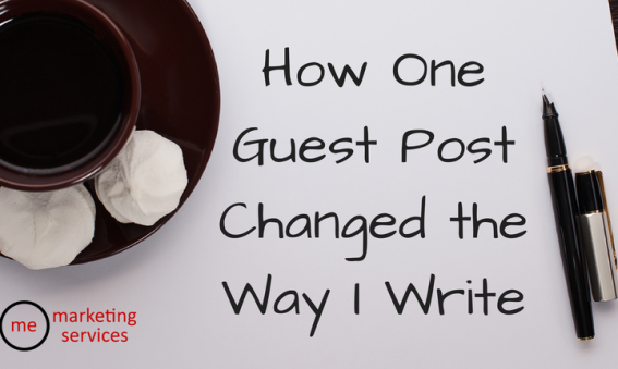 How One Guest Post Changed the Way I Write