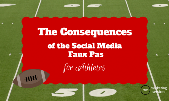 The Consequences of Social Media Faux Pas for Athletes