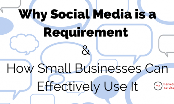 Why Social Media is a Requirement & How Small Businesses Can Effectively Use It