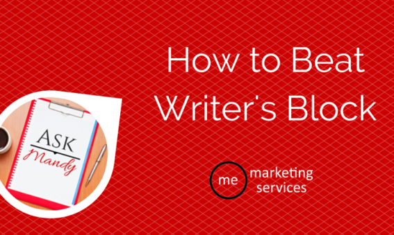 Ask Mandy Q&A- How to Beat Writer's Block