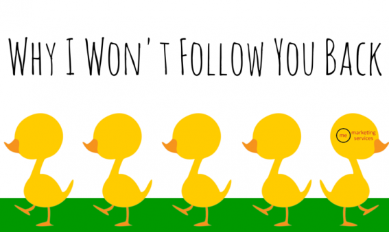 Why I Won't Follow You Back
