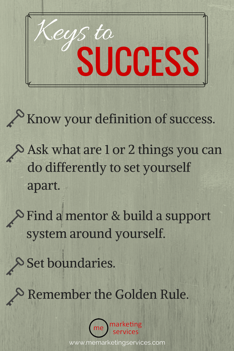 Keys to Being Successful