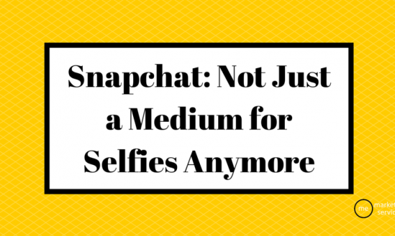 Snapchat, Not Just a Medium for Selfies Anymore
