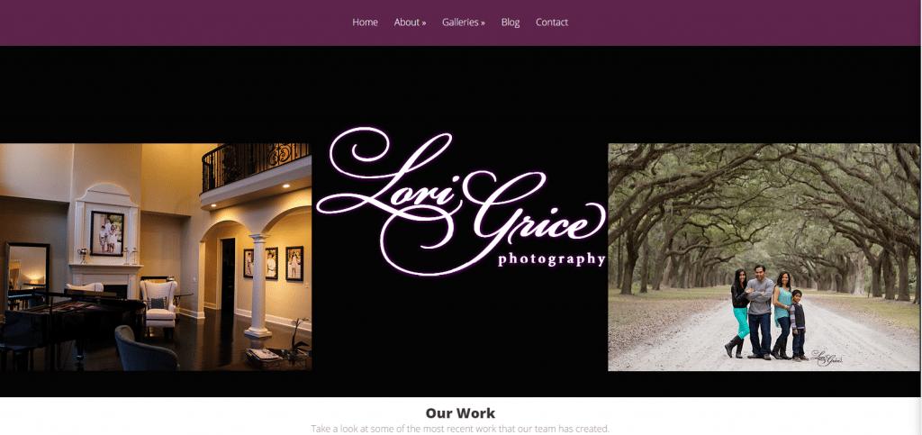 lori grice photography website