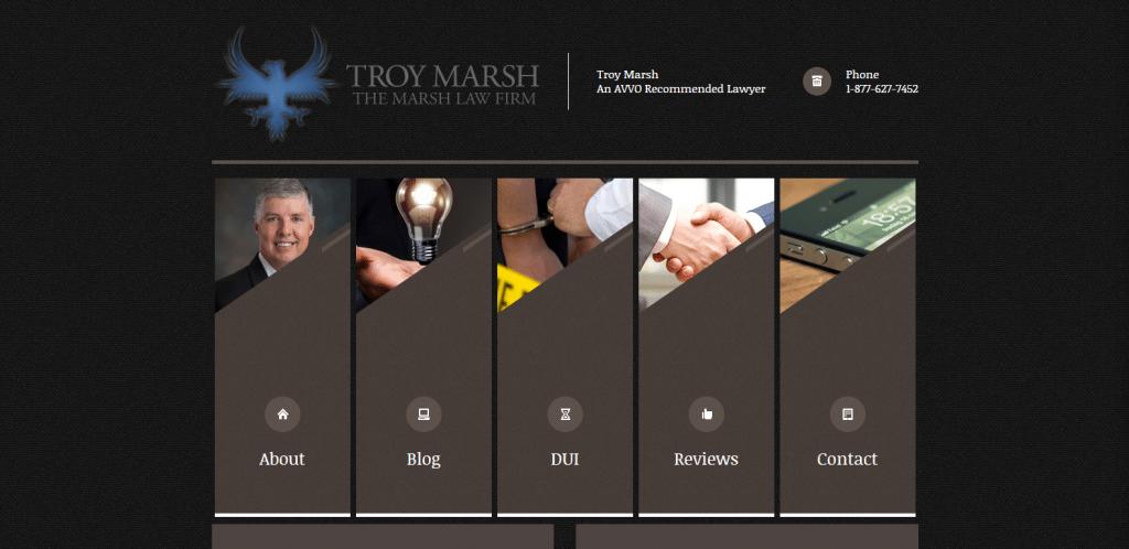 marshlawfirm me marketing services website design