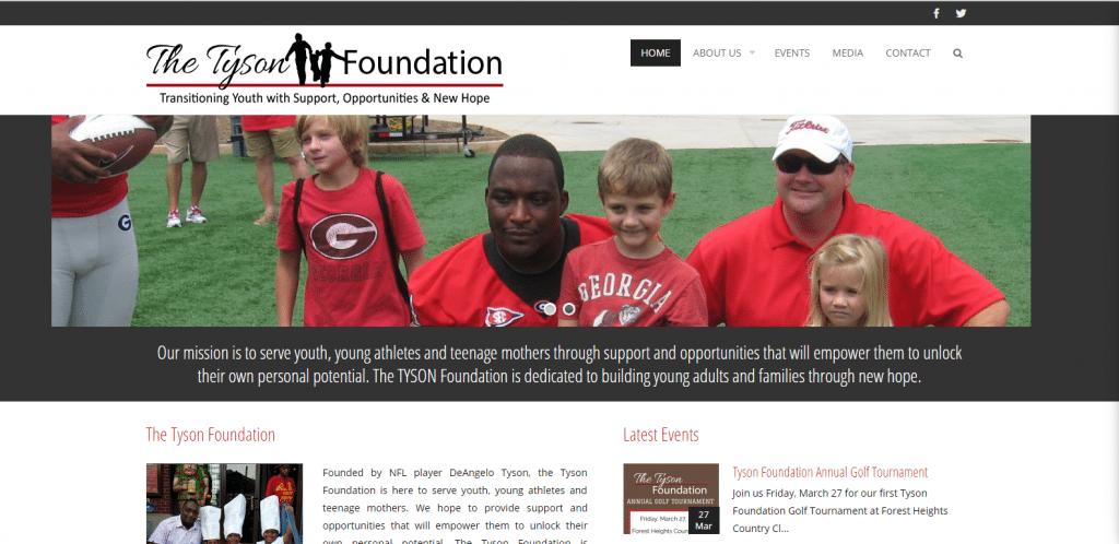 deangelo tyson foundation website
