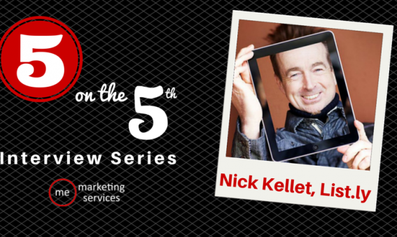 5 on the 5th Interview - Nick Kellet of List.ly