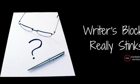 Writer's Block Really Stinks