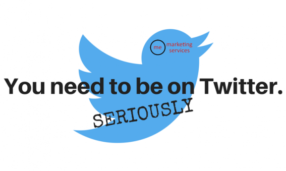 You need to be on Twitter. Seriously.