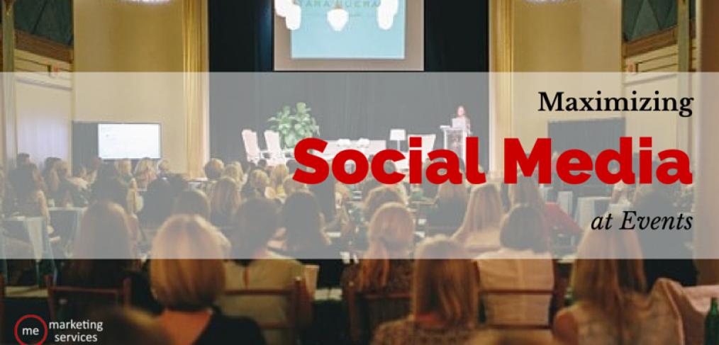 maximizing social media at events