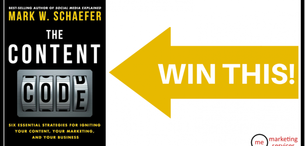 Win a copy of The Content Code!