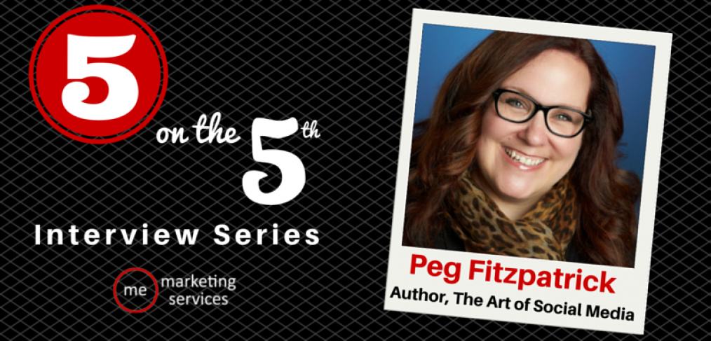 5 on the 5th - Peg Fitzpatrick, Author