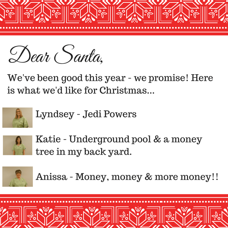 Dear Santa SOMS