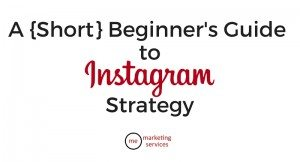 A {Short} Beginner's Guide to Instagram Strategy