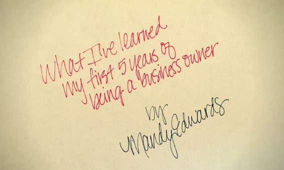 What I've learned my first 5 years of being a business owner