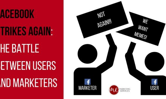 Facebook Strikes Again- The Battle Between Users and Marketers