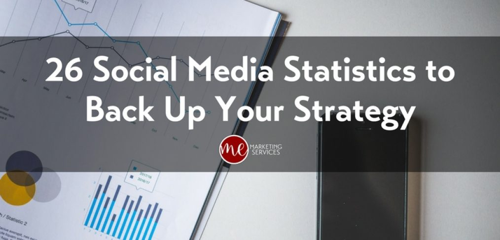 26 Social Media Statistics to Back Up Your Strategy