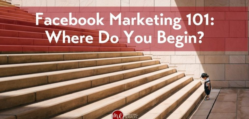 Facebook Marketing 101- Where do you Begin