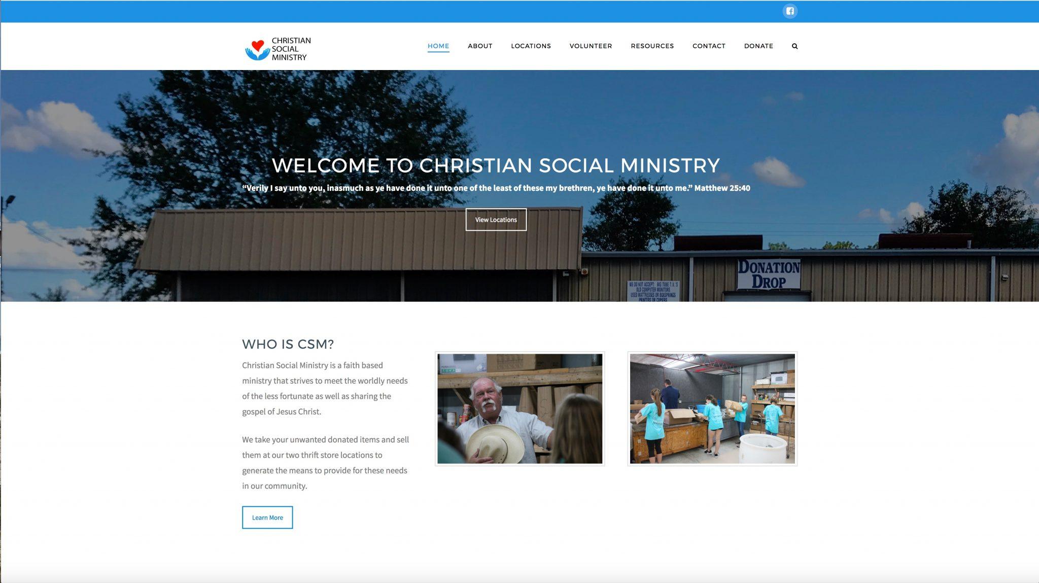 Christian Social Ministry