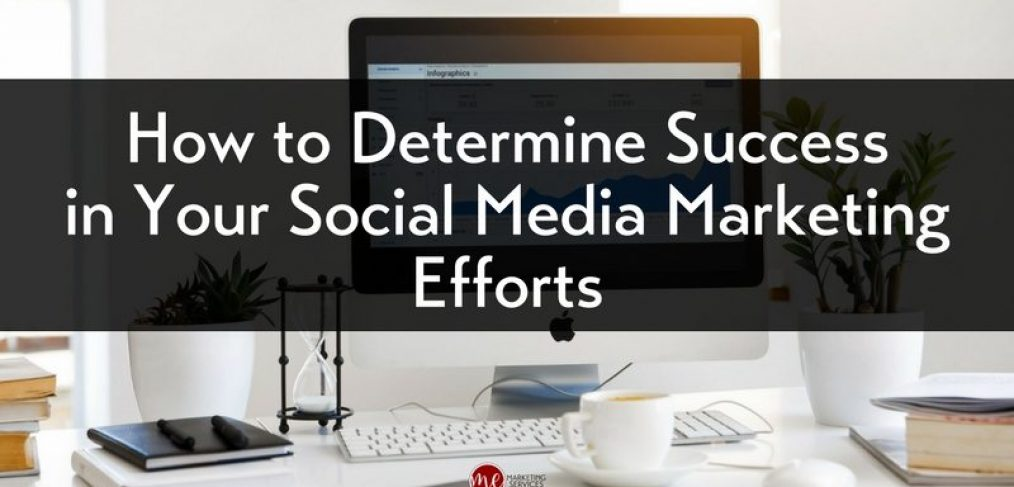 How to Determine Success in Your Social Media Marketing Efforts