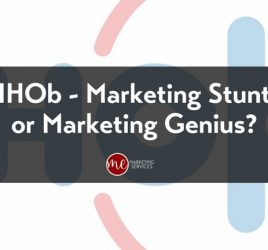 IHOb - Marketing Stunt or Marketing Genius_